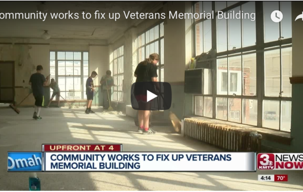 Community works to fix up Memorial Building